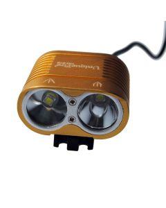 UniqueFire HD-016 2 * Cree XM-L2 4 modi 1800 lumen LED sykkel lys sykkel foran lys-Glod