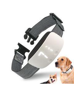 NY BERØRING 7 nivå skjerm hund bark sjokk trening krage vanntett oppladbar statisk sjokk anti ingen bark krage hund trening