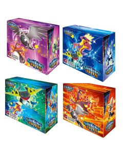 2021 NYTT 4X360PCS POKEMON TCG: Shining Fates Booster Box Trading Card Game Collection Toys