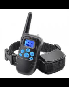 ny 998DRB 300m ekstern elektrisk hund krage støt vibrasjon oppladbar regntett hund trening krage med LCD-skjerm