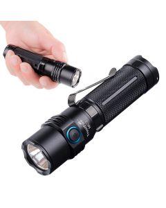 TrustFire MC3 CREE XHP50 2500 lumen LED lommelykt USB magnetisk ladefakkel 21700 oppladbart lys IP68 vanntett EDC håndholdt lampe arbeidslys