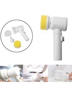 Håndholdt elektrisk rengjøringsbørste strømskrubber børste trådløs rengjøringsbørste for bad badekar kjøkken husholdning rengjøringsverktøy