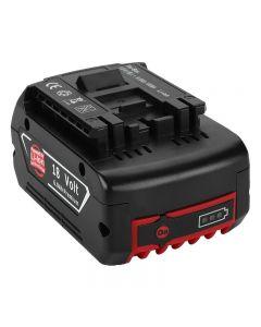 2020 NY 18V oppladbart batteri for Bosch 18V batteri backup bærbar erstatning for Bosch BAT609 indikatorlampe