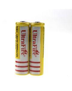 UltraFire BRC 18650 5000mAh Li-ion oppladbart batteri (1 par)