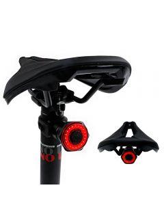 smart sykkel hale baklys auto start stopp brems IPX6 vanntett USB-lade sykling baklys sykkel LED lys