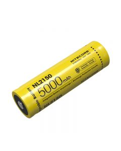 NITECORE NL2150 5000mAh 3.6V 18Wh 21700 Li-ion oppladbart batteri