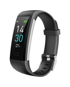 S5 Sports Smart Watch 's Pulsmåling Blodtrykk og kroppstemperaturovervåking Ip68 Vanntett Armbånd Herre og Kvinne