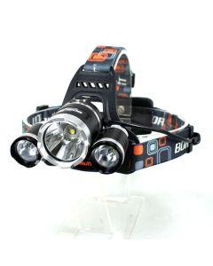 3T6 frontlys 3000 lumen High Power LED frontlys Boruit 3xCREE XM-L T6 4 hodelykt lys måleenhet bare