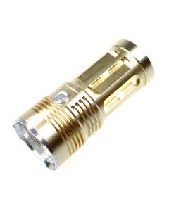 EternalFire kongen 4T6 4 * Cree XM-L T6 LED lommelykt 4000 lumen 3 moduser LED lommelykt-Glod-lys enhet bare