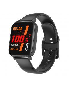 Smart Watch F25 Kroppstemperatur Smart klokke Sport Armbånd Støtte Hjertefrekvens Blodtrykk Blodtrykk Blod Oksygen