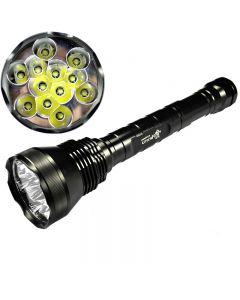 Lyktene 12T6 Cree XM-L T6 13800 Lumen 5-modus High Power LED lommelykt
