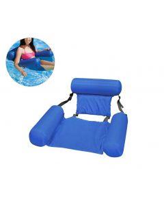 sommer oppblåsbar flytende rad vann hengekøye oppblåsbar svømmebasseng strand flytende sovepute seng stol