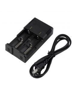 Nitecore i2 Intellicharge Universal batterilader Intelligent lading PowerIQ design for 18650 14500 AA AAA