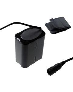 Skru fast grensesnitt 8.4V 6 x 18650 13200mAh sykkel frontlys batteri for LED sykkel lys